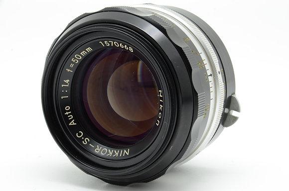 NIKON オートニッコールSC 50mm F1.4 ID 2b0740122
