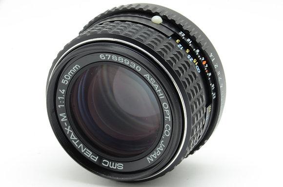 PENTAX SMCペンタM 50mm F1.4   ID 2b0737120