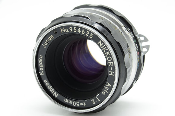 NIKON オートニッコール 50mm F2 ID 2b0740083