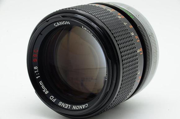CANON  FD 85mm F1.8 ID 2b0740446