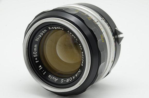 NIKON オートニッコール-S 50mm F1.4   ID 2b0739087
