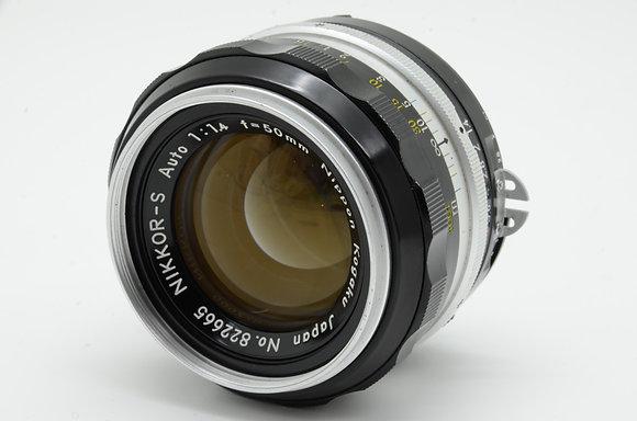 NIKON オートニッコール-S 50mm F1.4   ID 2b0736031
