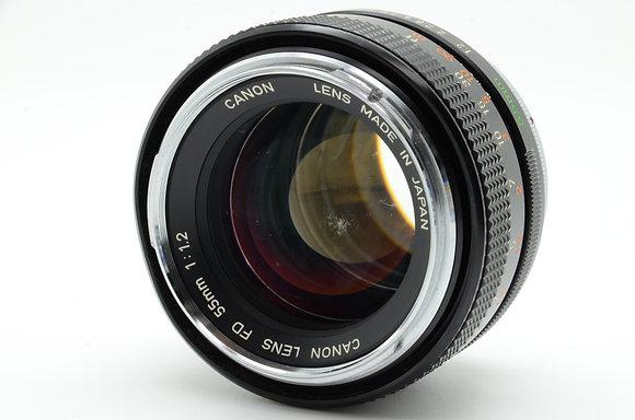 CANON  FD 55mm F1.2 ID 2b0740707
