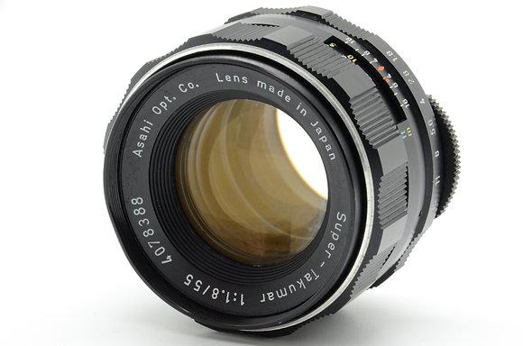PENTAX  Sタクマー 55mm F1.8  ID 2b0740708