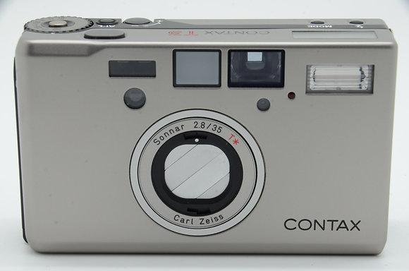 CONTAX  T3 シルバー ID 2b0743880