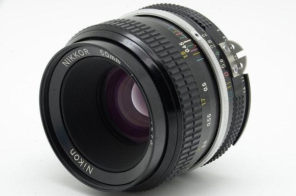 NIKON  NEWニッコール 50mm F2 ID 2b0738664