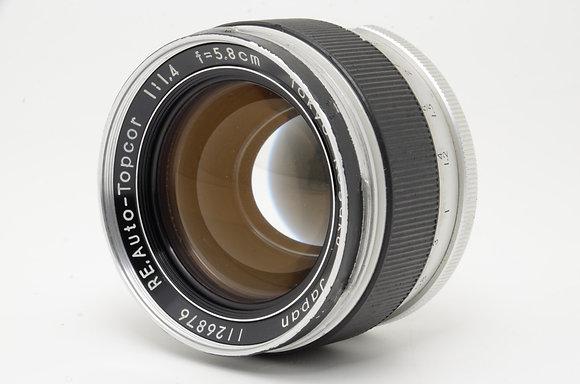 TOPCON オートトプコール 58mm F1.4 エキザクタマウント   ID 2b0705481