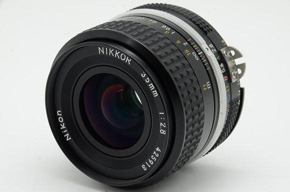 NIKON Ai 35mm F2.8   ID 2b0738299
