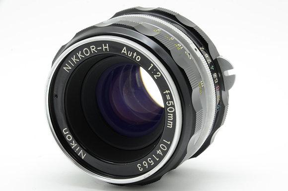 NIKON オートニッコール 50mm F2 ID 2b0740069