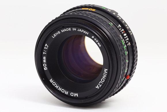 MINOLTA MDロッコール 50mm F1.7   ID 2b0727301