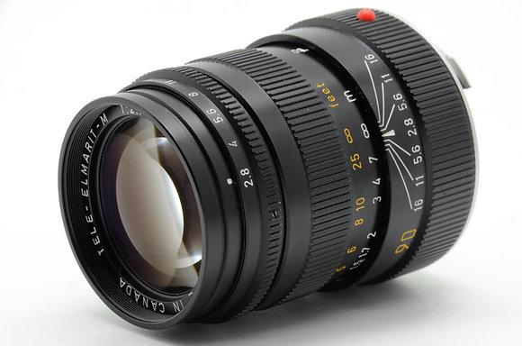 LEICA  テレエルマリートM 90mm F2.8 前期 ID 2b0733940