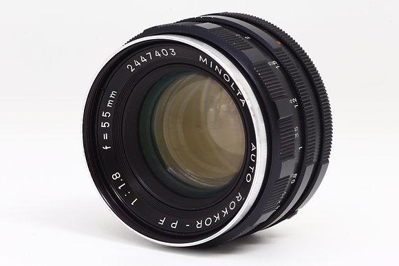 MINOLTA オートロッコール 55mm F1.8   ID 2b0735910