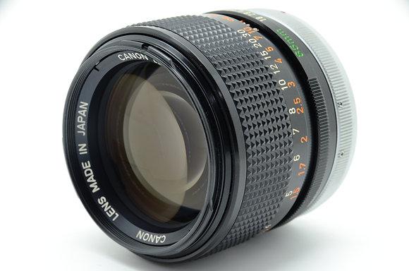 CANON  FD85mm F1.8 ID 2b0743404