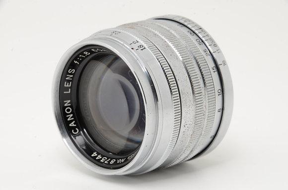 CANON 50mm F1.8   ID 2b0722553