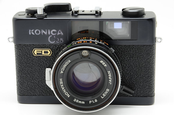 KONICA C35 FD ブラック ID 2b00736318