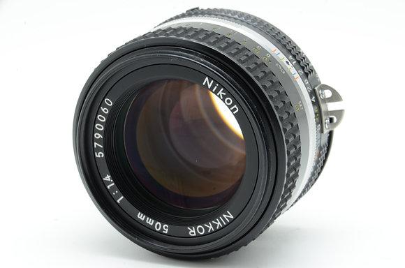 NIKON Ai 50mm F1.4S ID 2b0738764