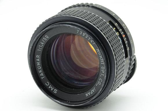 PENTAX SMCタクマー 50mm F1.4   ID 2b0739099