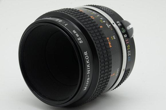 NIKON newnikkor 55mm F3.5    ID 2b0739084