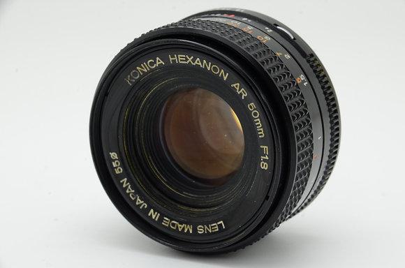 KONICA HEXANON AR 50mm F1.8 ID 2b0742198