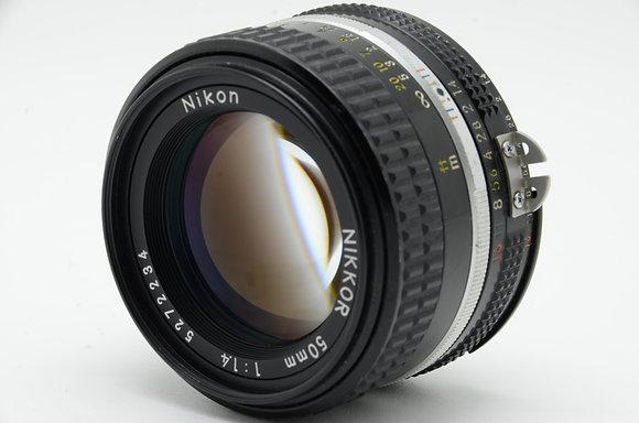 NIKON  Ai 50mm F1.4S ID 2b0740376