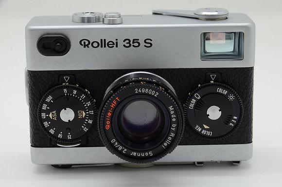 ROLLEI ローライ35S シルバー ID 2b0736702