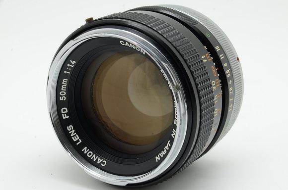 CANON FD 50mm F1.4    ID 2b0737583