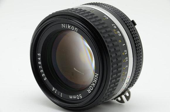 NIKON  Ai 50mm F1.4S ID 2b0740556