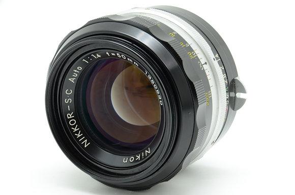 NIKON オートニッコールSC 50mm F1.4 ID 2b0740042