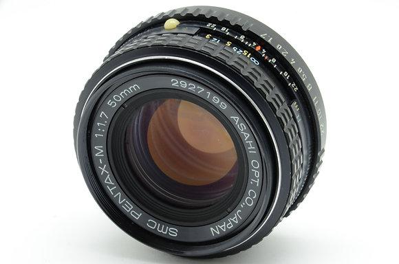 PENTAX SMCペンタM 50mm F1.7   ID 2b0736540