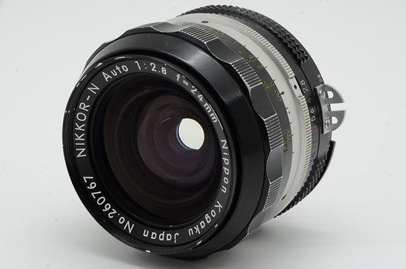 NIKON オートニッコール 24mm F2.8   ID 2b0735921