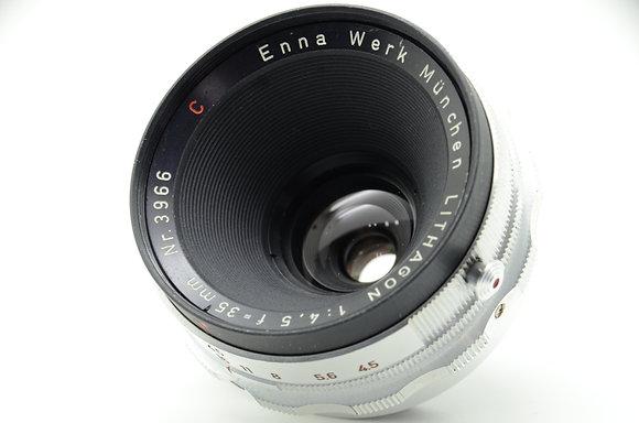 ENNA WERK  LITHAGON 35mm F4.5 ID 2b0743332