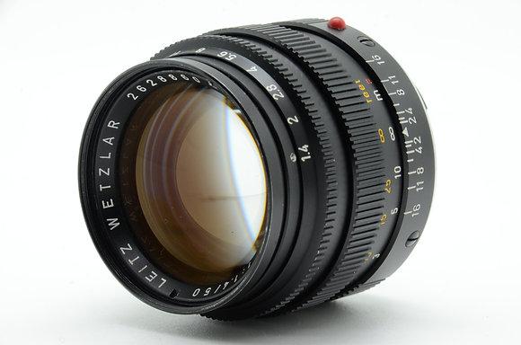 LEICA  ズミルックスM 50mm F1.4 Ver.2 ブラック ID 2b0740280