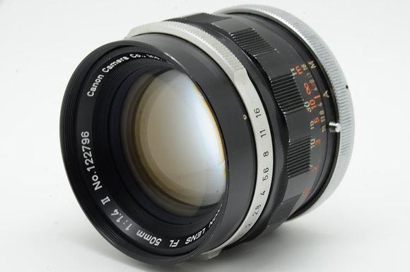 CANON FL 50mm F1.4   ID 2b0736653