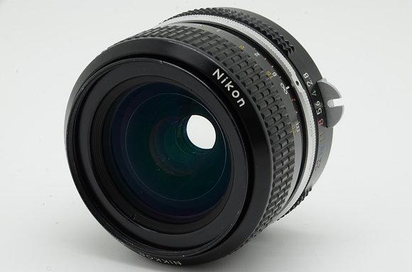 NIKON newnikkor 28mm F2.8   ID 2b0731076