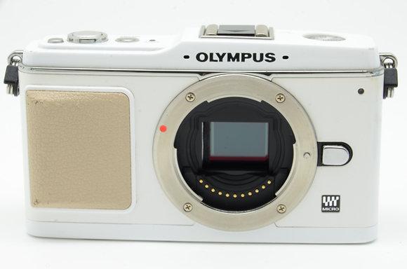 OLYMPUS PEN E-P1 ホワイト BODY ID 2b0739016