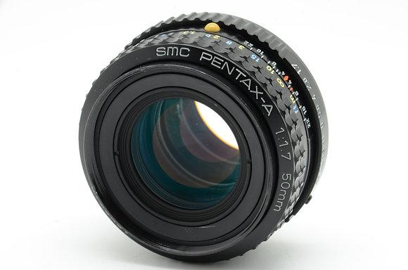 PENTAX SMCペンタA 50mm F1.7   ID 2b0738495
