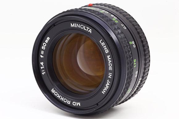 MINOLTA MDロッコール 50mm F1.4   ID 2b0734115