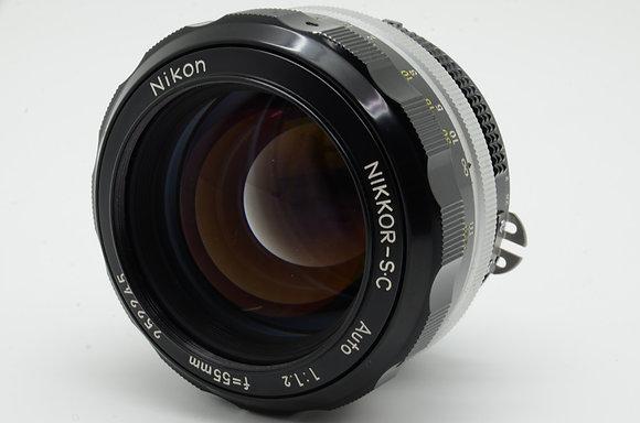 NIKON オートニッコール 55mm F1.2   ID 2b0736968