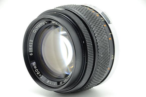 OLYMPUS  ズイコー50mm F1.4 ID 2b0730599