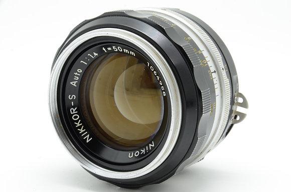 NIKON オートニッコールS 50mm F1.4 ID 2b0740075