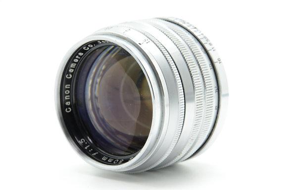 CANON  50mm F1.5 ID 2b0738980