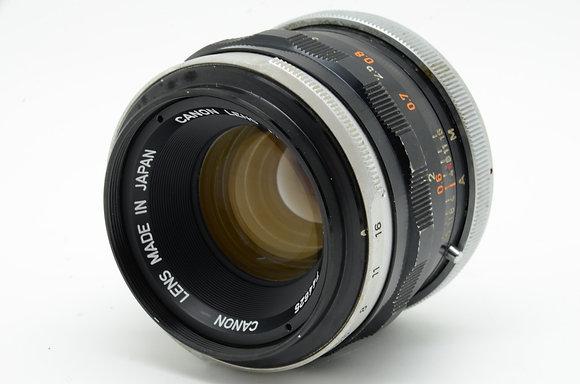 CANON FL 50mm F1.8   ID 2b0737586