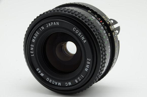 COSINA 28mm F2.8   ID 2b0737670
