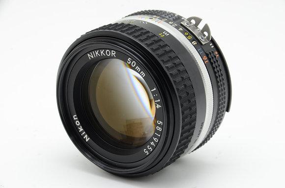 NIKON  Ai-S 50mm F1.4 ID 2b0741094