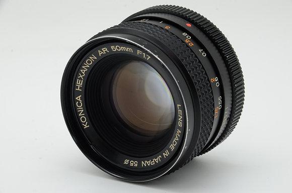KONICA HEXANON AR 50mm F1.7 ID 2b0742200