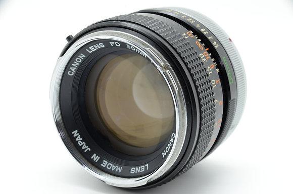 CANON  FD50mm F1.4 ID 2b0744033