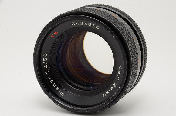 CONTAX プラナーT 50mm F1.4 AEJ   ID 2b0736717