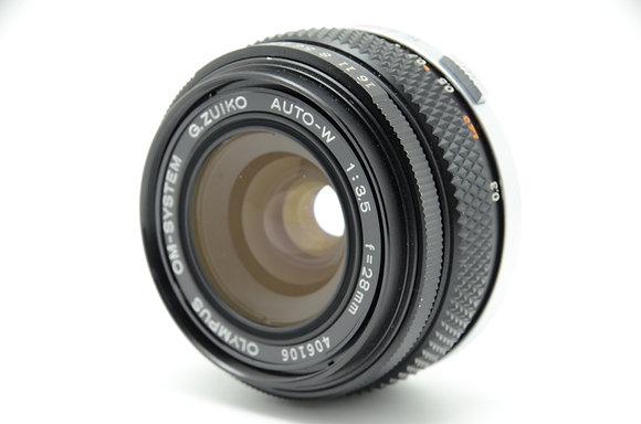 OLYMPUS  ズイコー28mm F3.5 ID 2b0743220