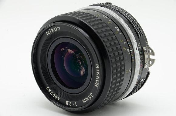 NIKON  Ai 35mm F2.8 ID 2b0738156