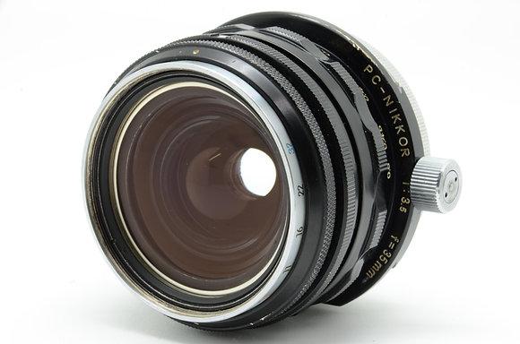 NIKON PCニッコール 35mm F3.5 ID 2b0734663